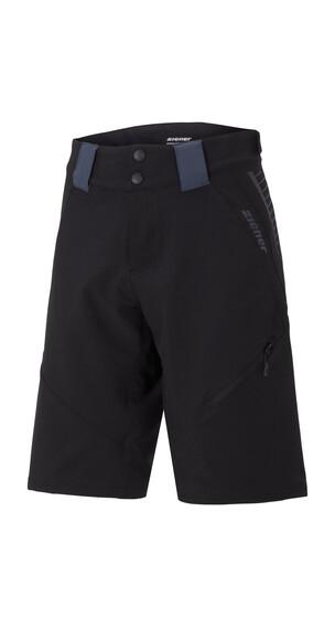 Ziener Caw Shorts Men X-Gel Tec black/black
